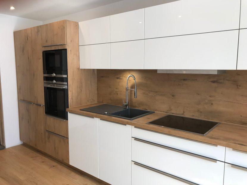 Weiß hochglanz Küche